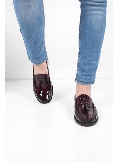 Oksit Ayakkabı Bordo